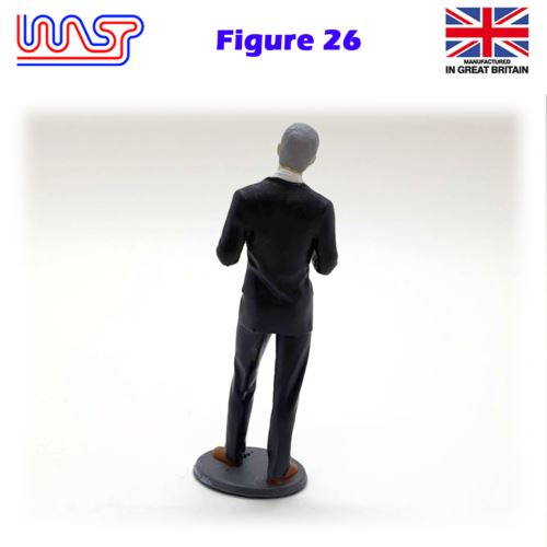 Trackside Figure Scenery Display No 26 New 1:32 Scale WASP