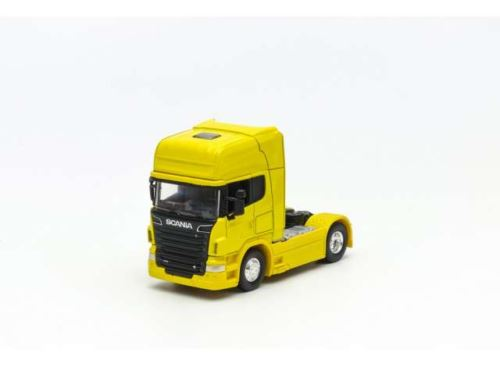 Scania V8 R730 4x2 Yellow Scale 1:64 Welly 68020SY