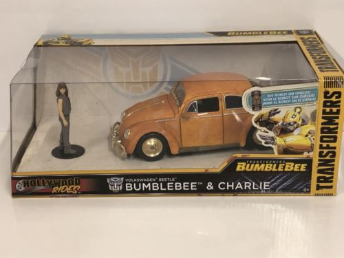 Transformers Bumblebee VW Beetle with Charlie Figure 1:24 Scale Jada 30114