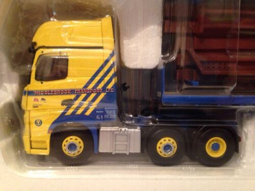 CORGI CC15811 Mercedes-Benz Actros (MP4) Flatbed Trailer, Middlebrook 1:50 New
