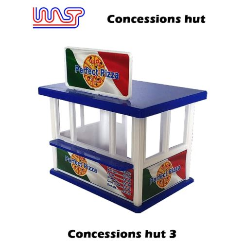Slot Car Scenery Track Side Concessions Hut No3 New 1:32 Scale WASP