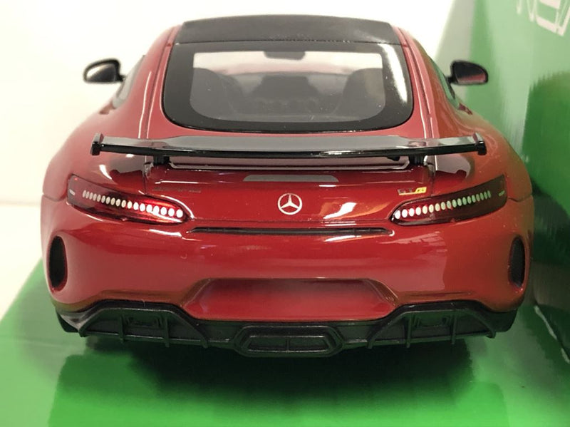2017 Mercedes AMG GTR Red 1:24 27 Scale Welly 24081R