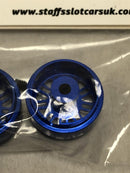Staffs Aluminium BBS Style Wheels in Blue 16.9x10mm STAFFS42