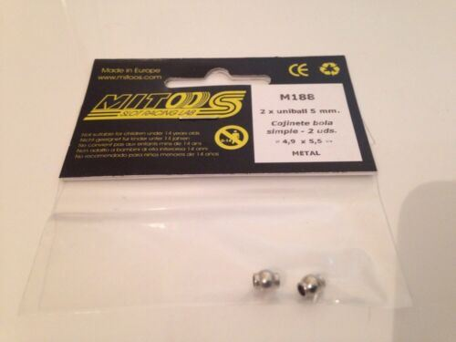 Mitoos M188 Metal Uniball 4.9mm X 5.5mm x 2 New