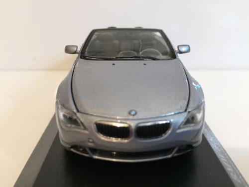 Minichamps 431026031 BMW 6 Series Cabrio 2006 Silver Limited Edition