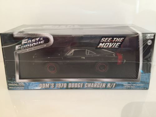 Fast and Furious Doms 1970 Dodge Charger R/T Off Road Greenlight