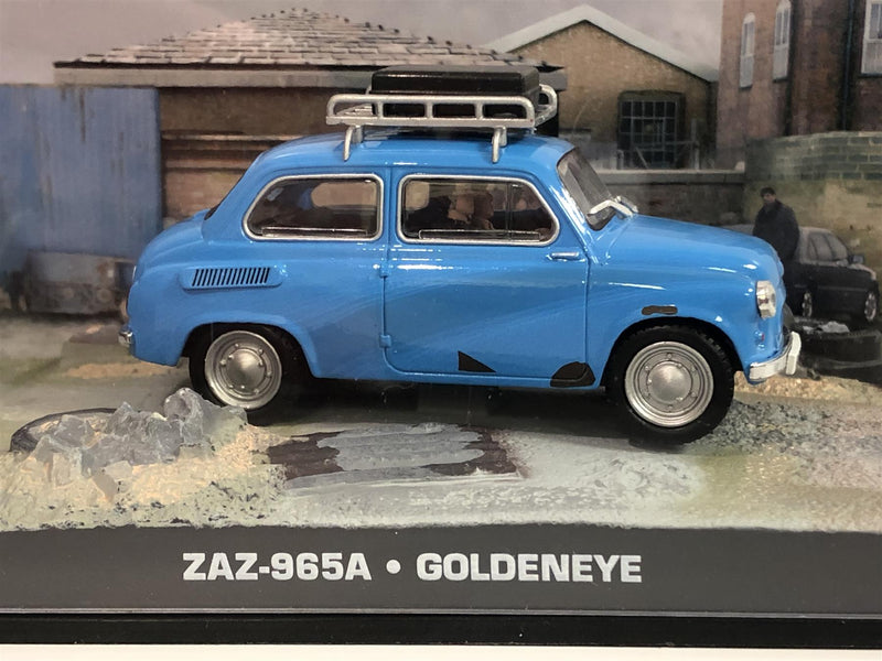 James Bond 007 Collection ZAZ-965A Goldeneye 1:43 Scale