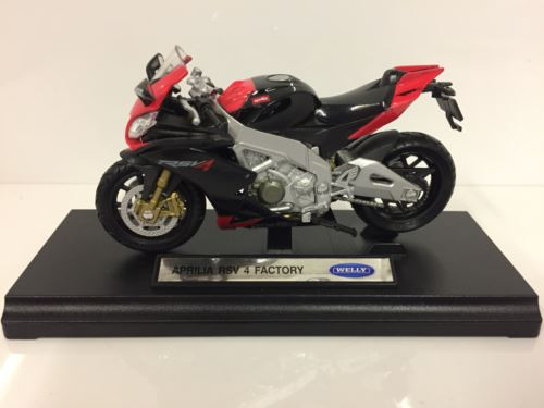 Aprilia RSV 4 Factory 1:18 Scale Welly 12833