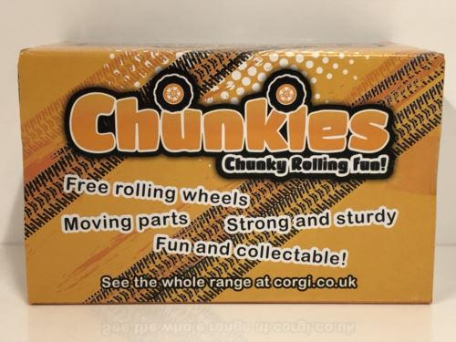 Corgi CHUNKIES CH075 Off Road DHN Police U.K.Diecast and Plastic Toy