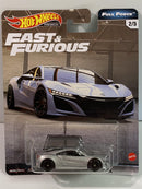 Fast and Furious 2017 Acura NSX Full Force Hot Wheels GJR75 Real Riders