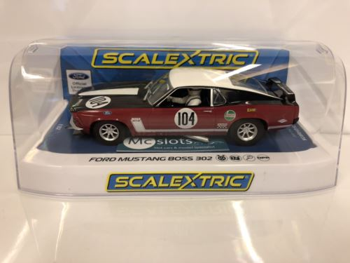 Scalextric C3926 Ford Mustang 1970 Frank Gardner New Boxed