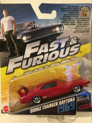 Fast & Furious 6 1969 Dodge Charger Daytona 1:55 Scale Mattel FCN86 2017
