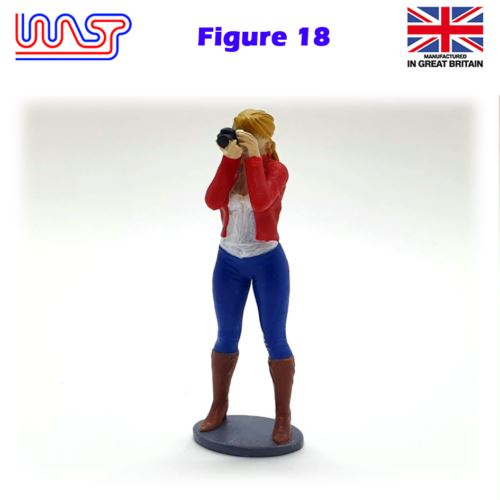 Trackside Figure Scenery Display No 18 New 1:32 Scale WASP