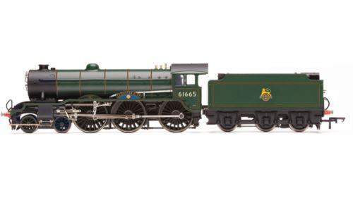 Hornby R3523 BR Early 4-6-0 Class B17/6 Leicester City No 61665 DCC Ready 00