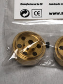 Staffs Aluminium Bullet Hole Wheels in Gold 15.8x8.5mm STAFFS26