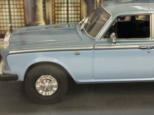 James Bond 007 Rolls Royce Silver Shadow Licence to Kill 1:43 Scale