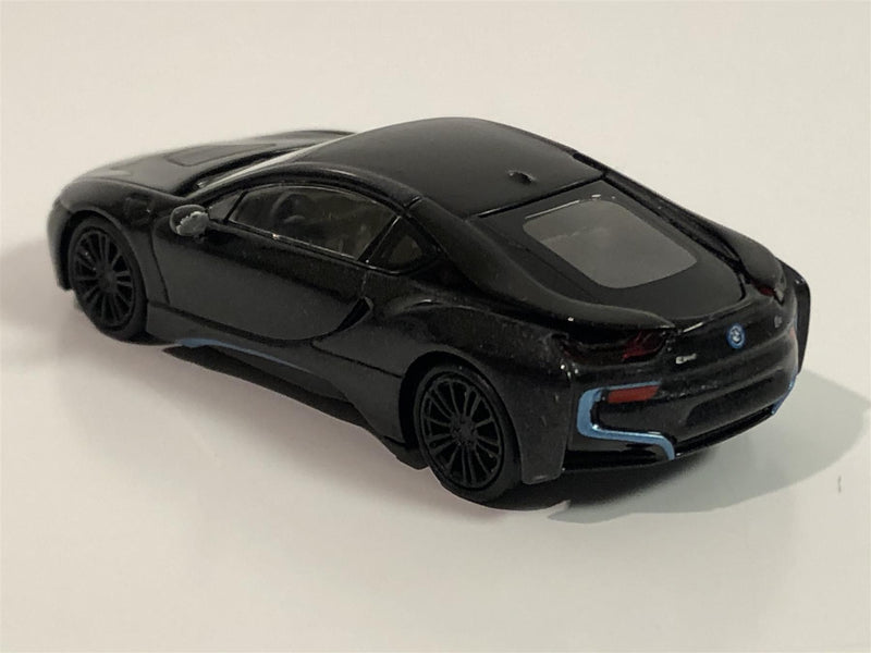 Minichamps 870028222 BMW i8 Coupe 2015 Grey Metallic 1:87 Scale