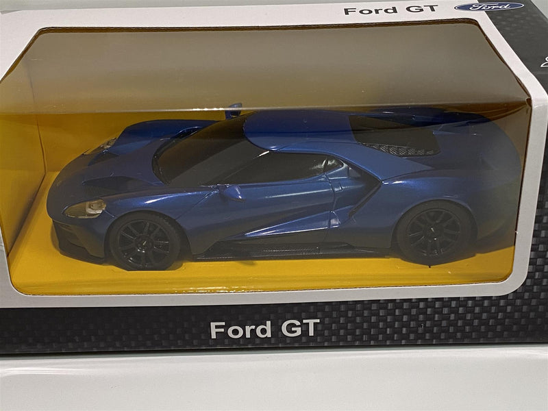 Ford GT Blue 1:24 Scale RC Remote Controlled Rastar 78200 New Boxed