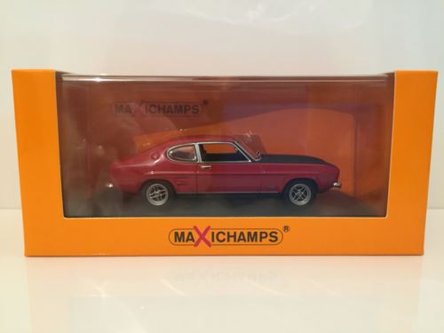 Maxichamps 940085801 Ford Capri RS 1969 Red - New 1:43 OFFER