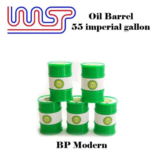BP Modern 5 x Barrel Drum 1:32 Scale Slot Car Track Scenery Wasp 55