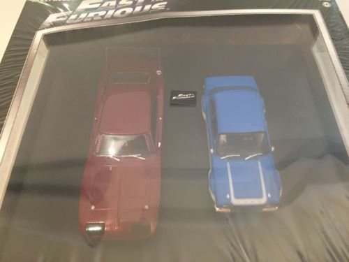 Fast & Furious Twin Pack Doms Custom Dodge & Brians Ford Escort