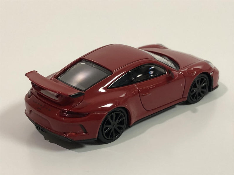 Minichamps 870067322 Porsche 911 GT3 2017 Red 1:87 Scale