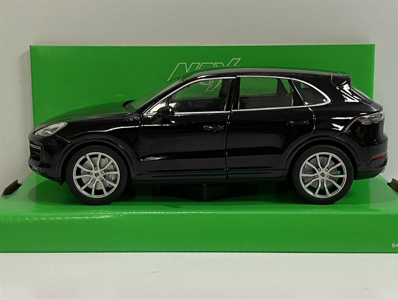 Porsche Cayenne Turbo Black  1:24 Scale Welly 24092BLK