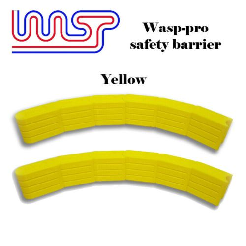 Slot Car Track Scenery Yellow Barriers x 12 1:32 Scale NEW Wasp