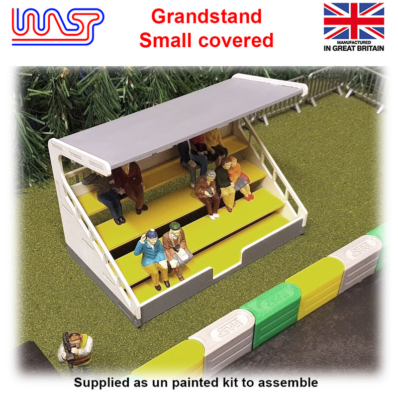 Slot Car Track Scenery Grandstand Covered Small 1:32 Scale NEW Wasp