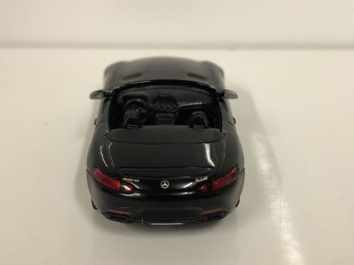 Minichamps 870037131 Mercedes AMG GTS Cabrio 2017 Black 1:87 Scale