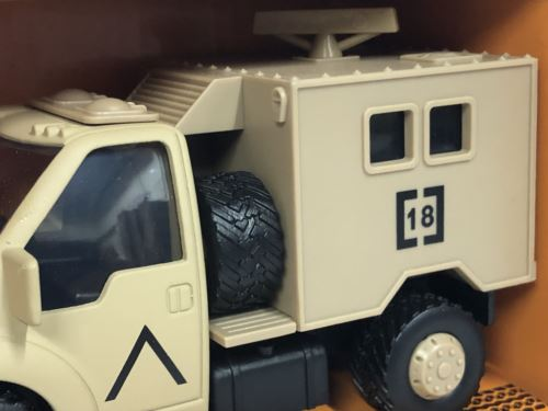 Corgi CHUNKIES CH078 Military Radar Truck U.K.Diecast and Plastic Toy