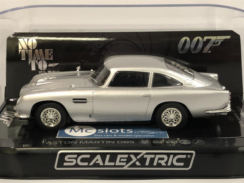 Scalextric C4202 James Bond 007 Aston Martin DB5 No Time To Die New Boxed