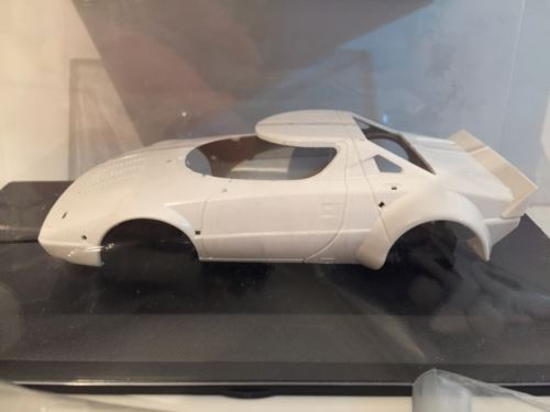 Team Slot KIT001 Lancia Stratos GR.4 Complete White Kit NEW