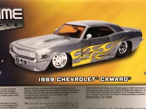 1969 Chevrolet Camaro 20th Anniversary Series 1:24 Jada 45009