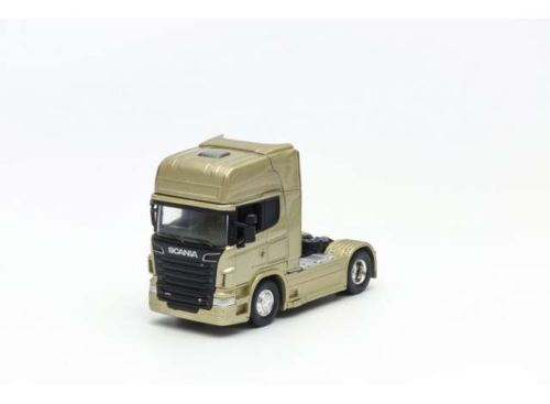 Scania V8 R730 4x2 Gold Scale 1:64 Welly 68020SGD