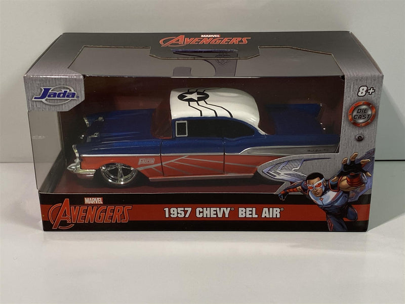 Falcon Avengers 1957 Chevy Bel Air 1:32 Scale Jada 31762