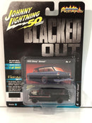 1955 Chevy Nomad Deep Dark Gloss Black 1:64 Scale Johnny Lightning JLSF013B