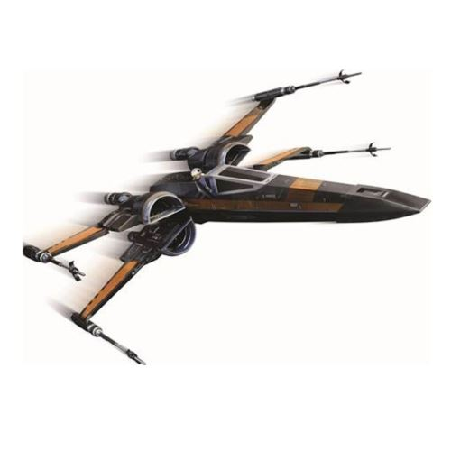 Star Wars The Force Awakens Poe's X-Wing Fighter Starship Hot Wheels Elite