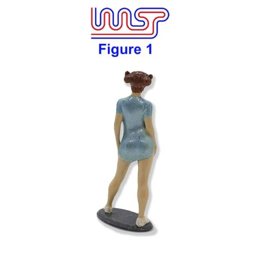 Trackside Figure Scenery Display No1 New 1:32 Scale WASP