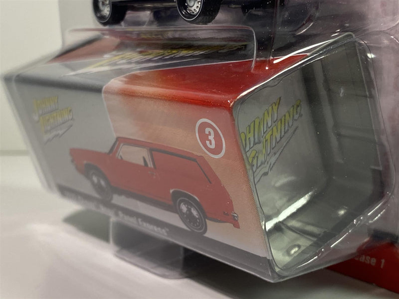 1972 Chevy Vega Panel Express Red Collector Tin 1:64 Johnny Lightning JLCT003A