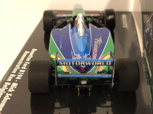 Minichamps 517941705 Mike Schumacher Benetton Ford B194 Demo Run Belgian GP