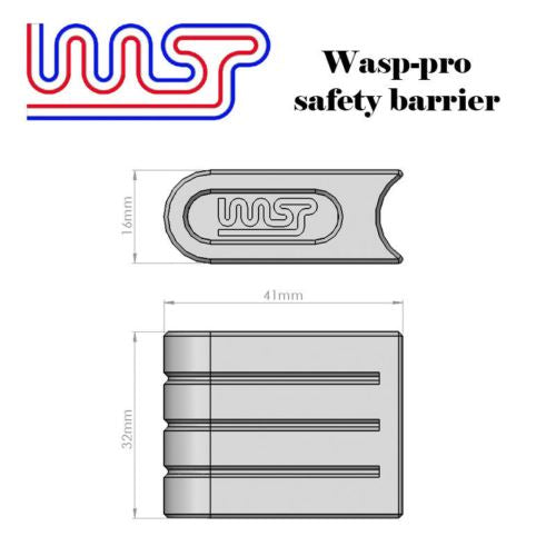 Slot Car Track Scenery White Barriers x 12 1:32 Scale NEW Wasp
