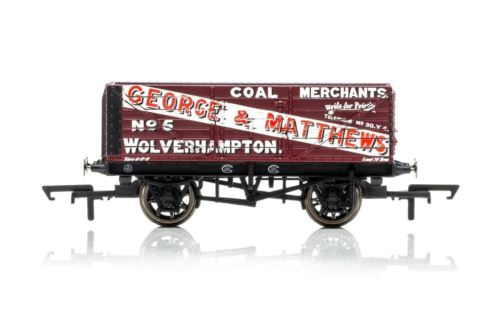 Hornby R6876 7 Plank Wagon George and Matthews Era 2 New