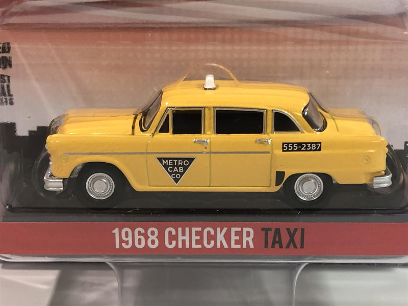 Starsky and Hutch 1968 Checker Taxi 1:64 Scale Greenlight 44855C
