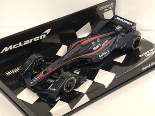 Minichamps 537133600 McLaren MP4-X 2015 Concept Car 1:43 Scale