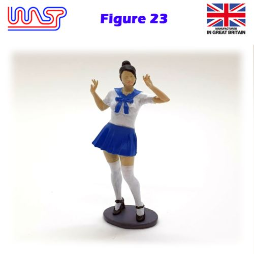 Trackside Figure Scenery Display No 23 New 1:32 Scale WASP