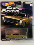 Fast and Furious 1966 Chevy Nova Real Riders Hot Wheels GJR72