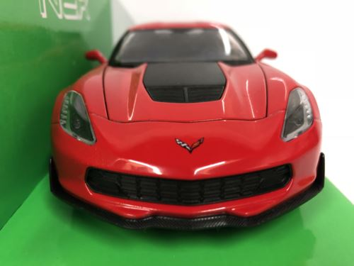 Chevrolet Corvette Z06 Red 1:24-7 Scale Welly 24085 New Boxed