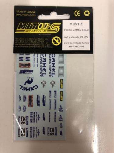 Mitoos M951.1 Panda Camel Decal 1:32 Scale