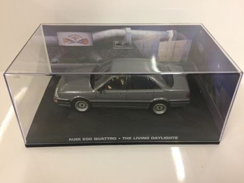 James Bond 007 Audi 200 Quattro The living daylights 1:43 Scale